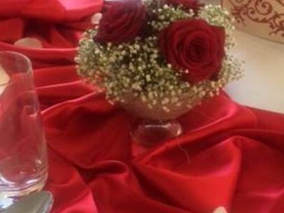Svadobná kvetinová výzdoba 20
