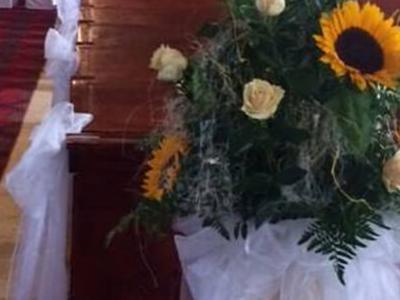Svadobná kvetinová výzdoba 21