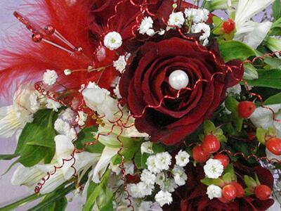 Svadobná kvetinová výzdoba 30