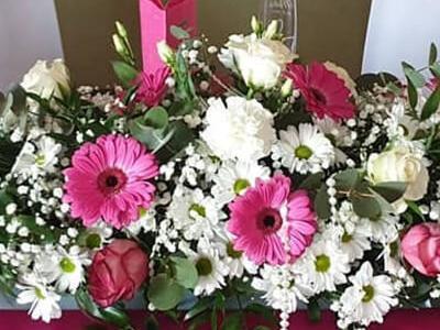 Svadobná kvetinová výzdoba 8